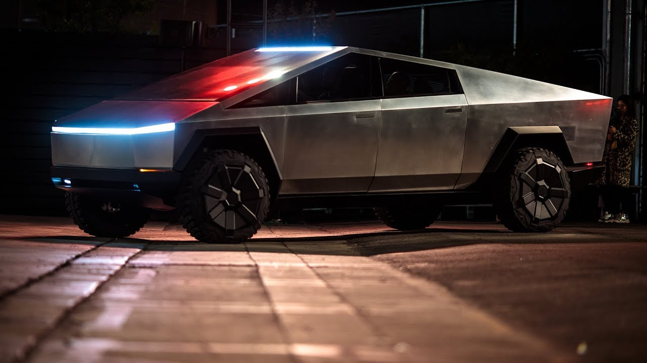 Elon Musk's One Step Closer to the Future by Revealing the Tesla Cybertruck