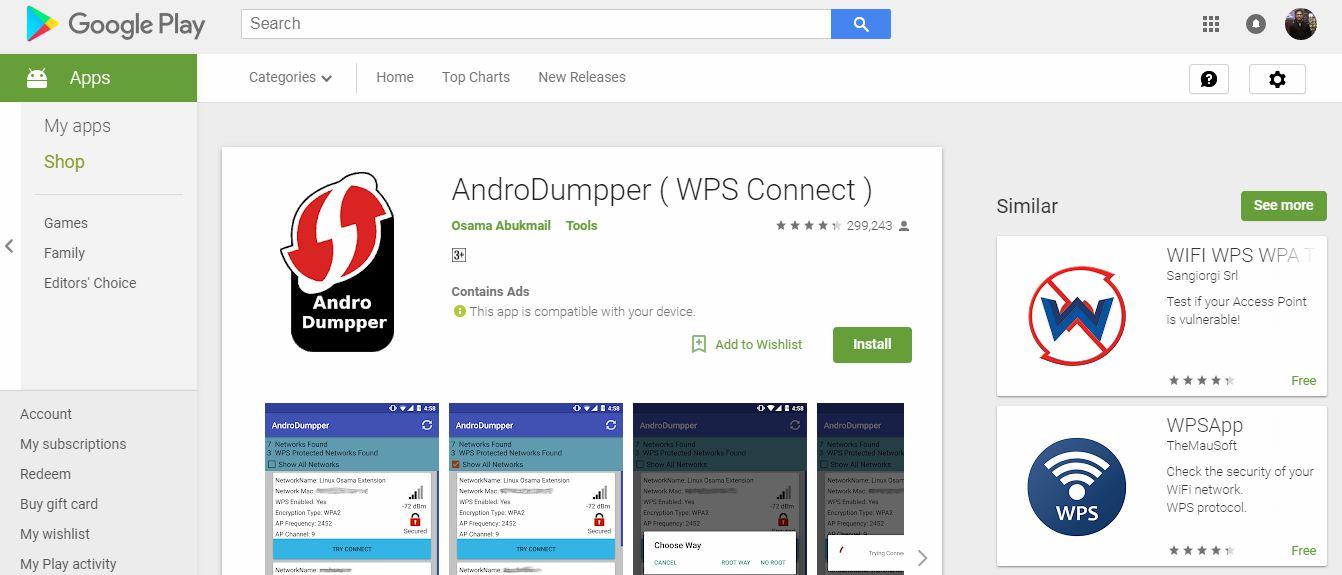 AndroDumpper APK ( Download AndroDumpper WiFi Premium APK )