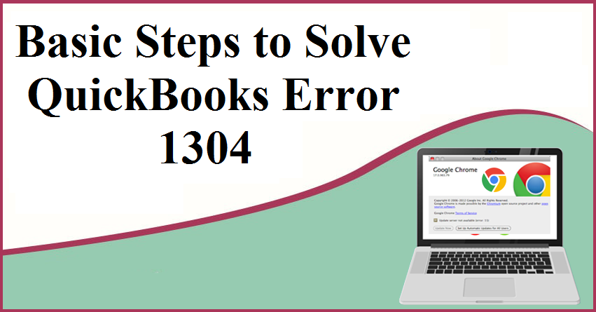 quickbooks error 1304