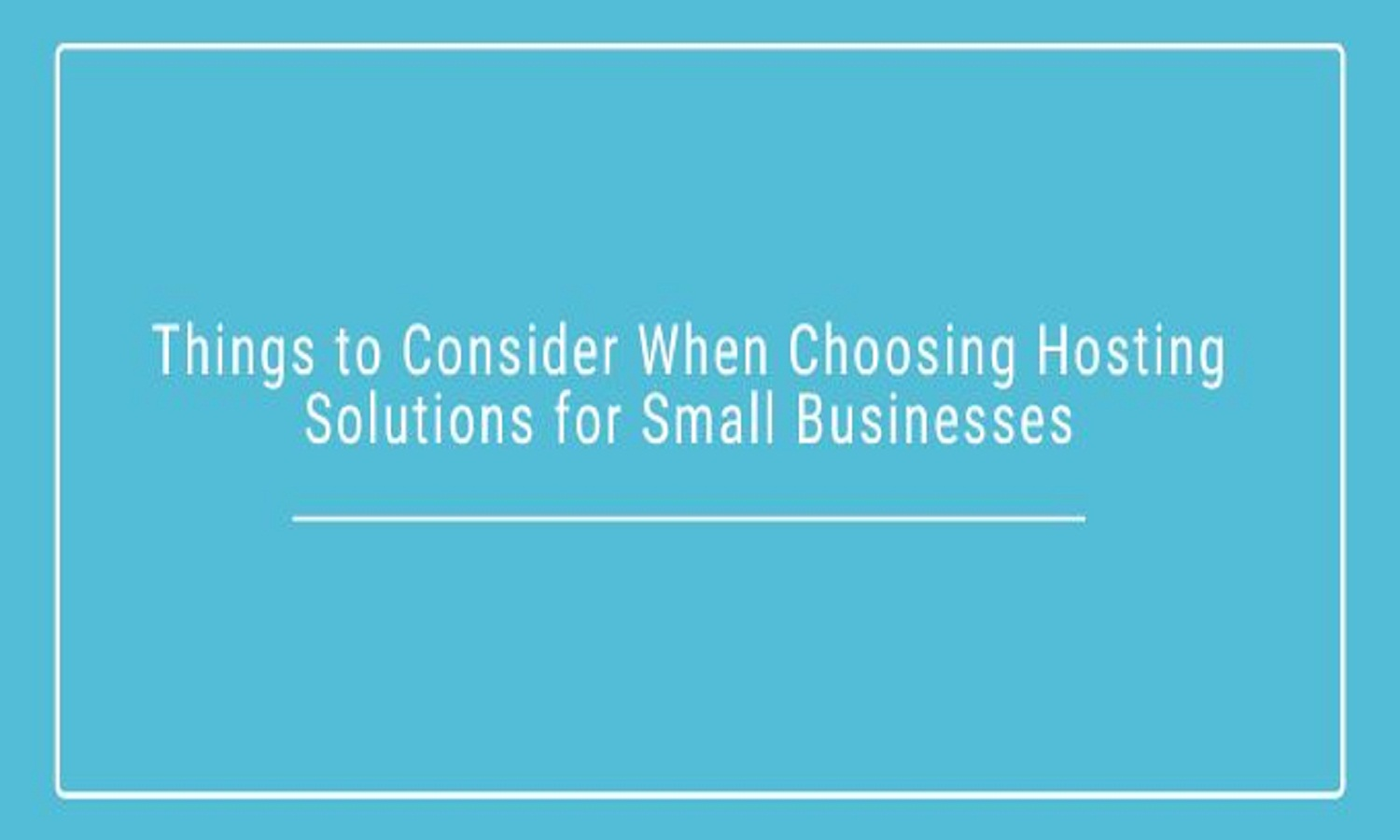 Top Tips to Choosing Affordable Web Hosting For Small Businesses