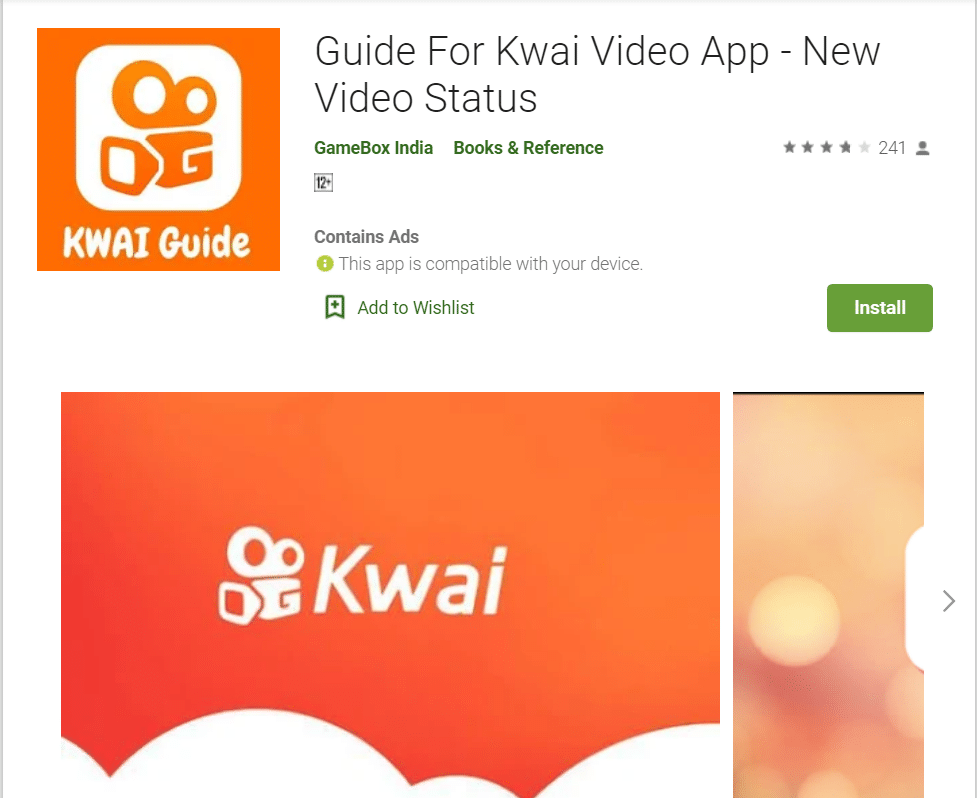 Kwai - Alternative to TikTok