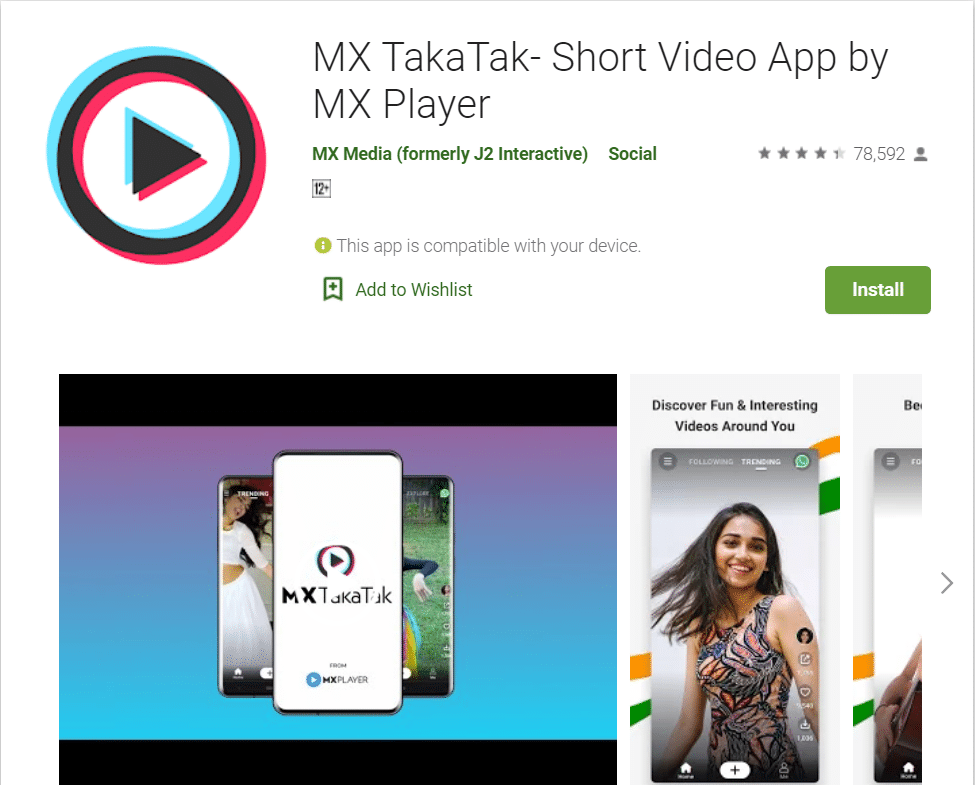 MX Taka Tak - Short Video App