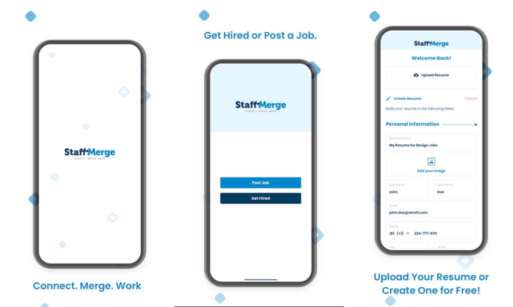 StaffMerge Job App