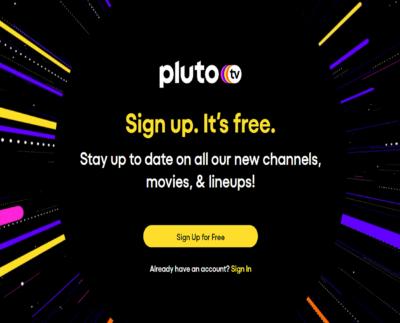 Pluto Com Activate