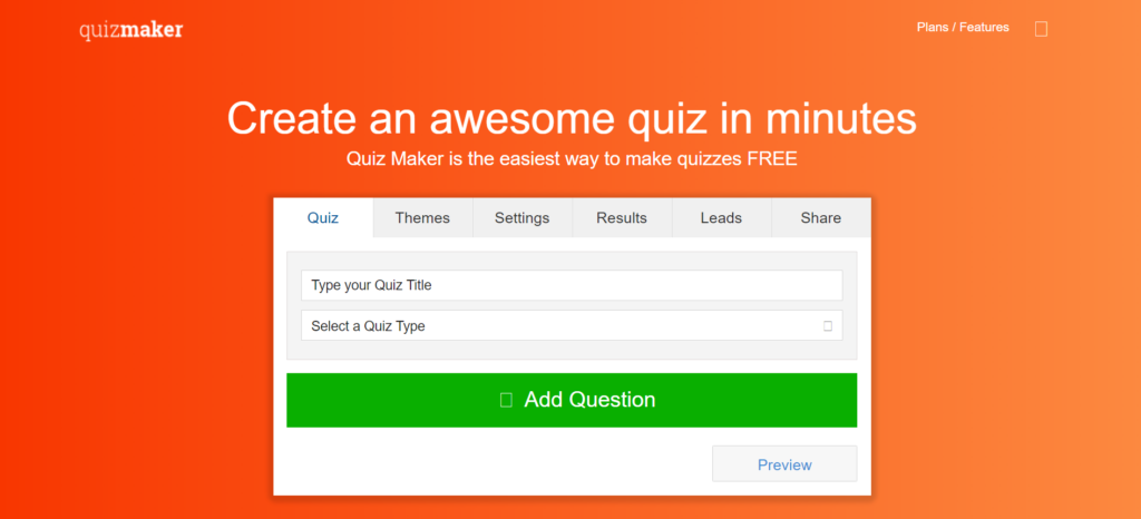 Awesome Quiz Maker Tool