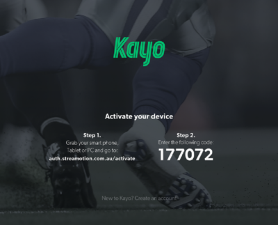 Kayo Activate