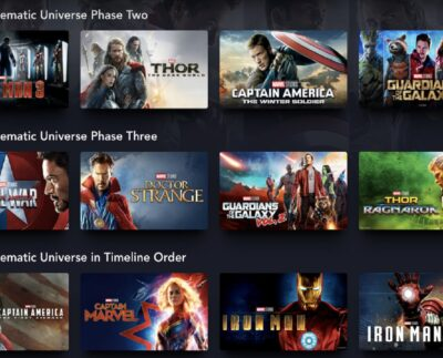 Marvel Movies In Order
