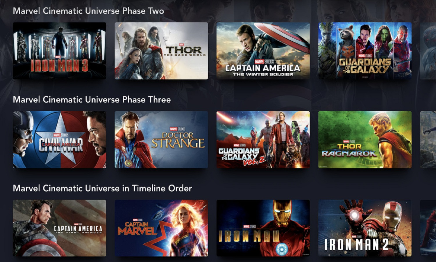 How To Watch Marvel Movies In Order?