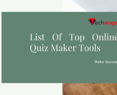 Online Quiz Maker Tools