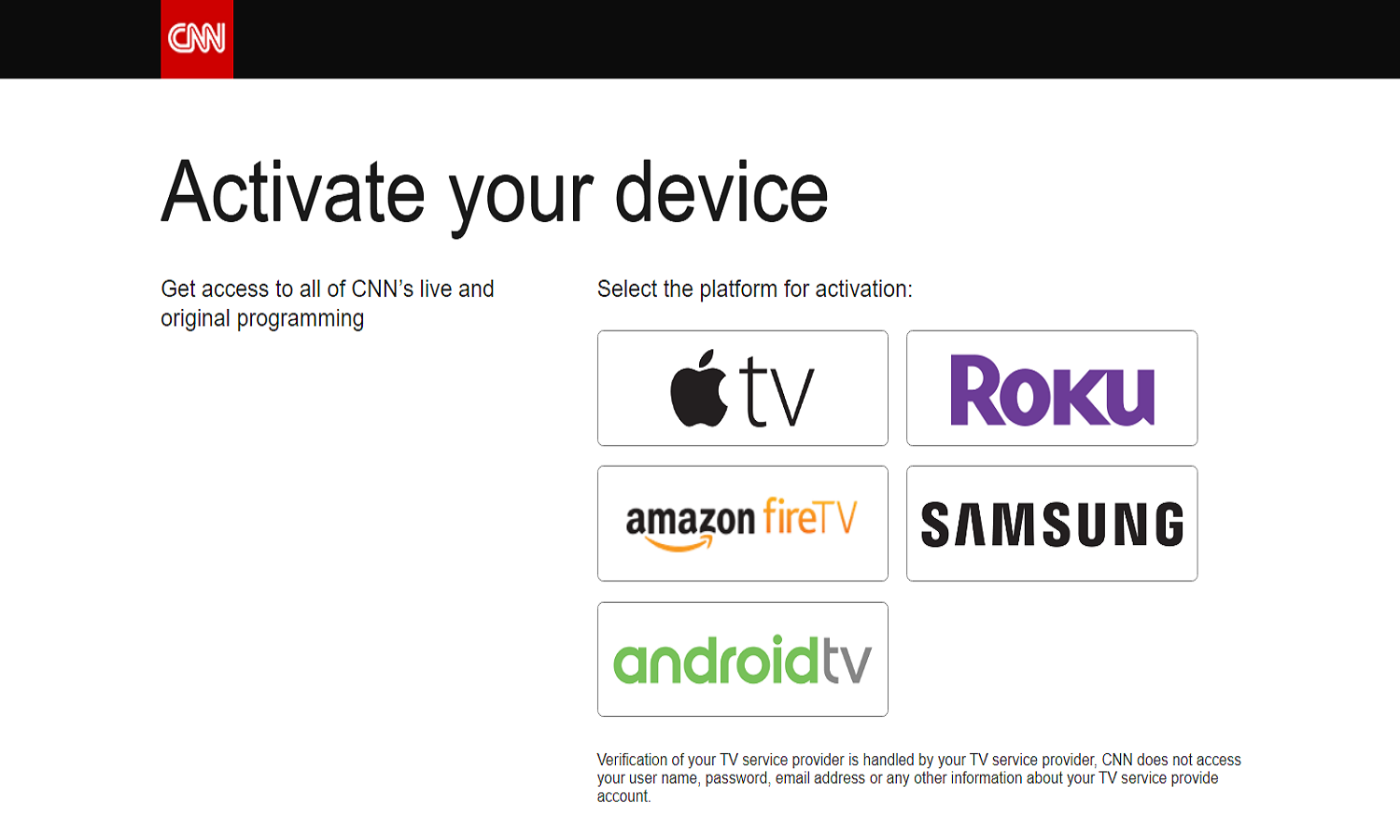 How To Activate CNN Channel On Different Devices?