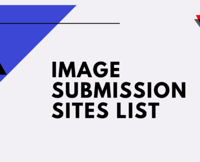 Image submission sites list
