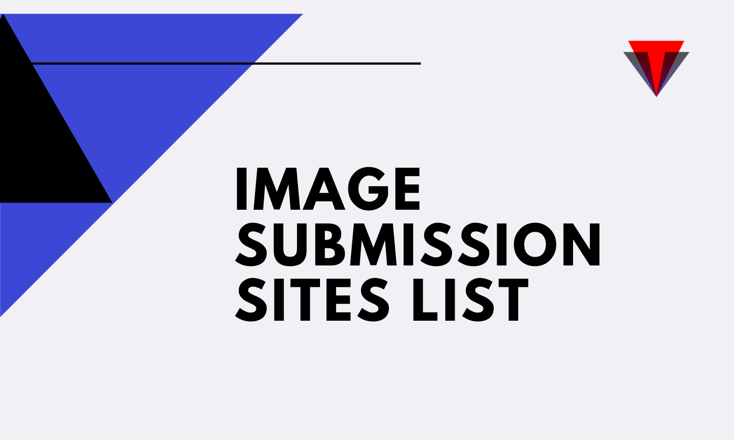 Updated List Of Top Free Image Submission Sites
